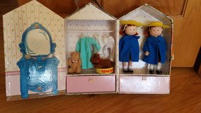 Madeline dolls, case, clothes in Naperville, Illinois
