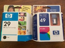 HP Ink - Black 29 and Tri-color 49 in Plainfield, Illinois