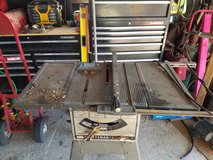 "Craftsman 10"" table saw 100. in Pasadena, Texas"