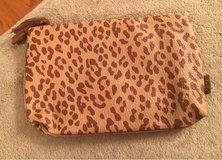 Leopard Print Cosmetic Bag in Plainfield, Illinois