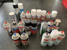 Spray Paint Lot (26 cans total) in Okinawa, Japan