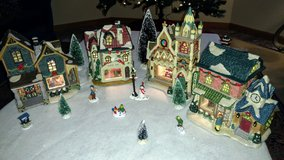 Christmas Village in Travis AFB, California