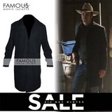 Justified Timothy Olyphant (Raylan) Trench Coat Jacket in Spring, Texas