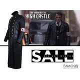 The Man in the High Castle Rufus Sewell Leather Coat in Spring, Texas
