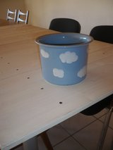 pot with clouds in Ramstein, Germany