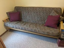 Futon Bed, Frame and Cover in Orland Park, Illinois