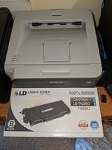 Brother HL-2140 Monochrome Laser Printer with new unopened toner cartridge in Orland Park, Illinois