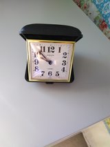Europa travel clock made in Germany in Joliet, Illinois