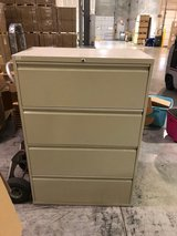 """*********Price Lowered******Metal Filing Cabinet 53"""" Tall by 3' Wide & 19"""" Deep in Chicago, Illinois"""