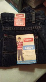(New) Wrangler Boys Denim Cargo Jeans in Byron, Georgia