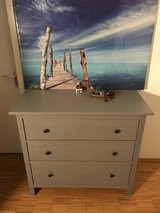 IKEA Hemnes dresser 3 drawer gray as new in Stuttgart, GE
