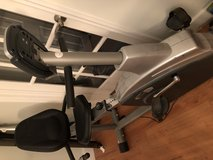 Schwann 201 upright exercise bike in Beaufort, South Carolina