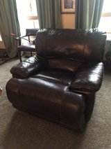 Full Top Grain Leather Recliner in Naperville, Illinois