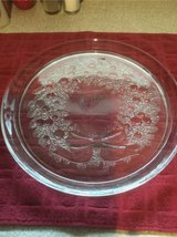 Wreath Serving plate with lip in Okinawa, Japan