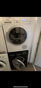 Stackable washer & dryer 220v in Stuttgart, GE