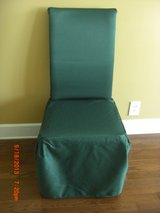 2) Chair Cover Covers GREEN fits Dining and Parson chairs in Alamogordo, New Mexico