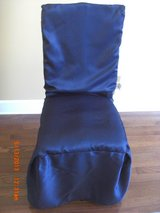 4) Chair Cover Covers Blue fits Dining and Parson chairs in Alamogordo, New Mexico