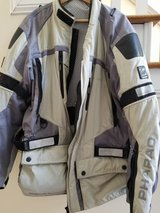 Pharo Adventure Motorcycle Jacket with pads and insert in Fort Bragg, North Carolina