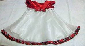 Two darling Christmas dresses for baby girl. in Alamogordo, New Mexico