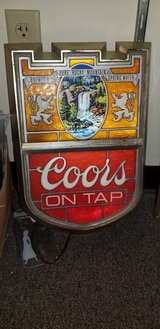 Lighted Coors sign in St. Louis, Missouri