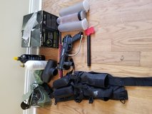 Tippman A5 Paintball Gun and accessories in Fort Bragg, North Carolina