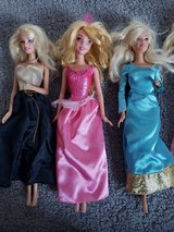 3 Barbie Doll Lot in Fort Campbell, Kentucky