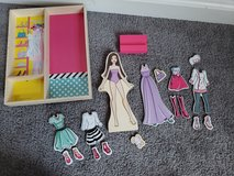 Barbie Wood Magnets Puzzle dress up in Fort Campbell, Kentucky