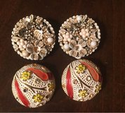 2 Pairs of Clip Earrings in Naperville, Illinois