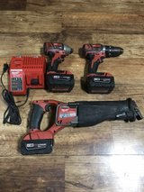 Milwaukee cordless tools in Okinawa, Japan