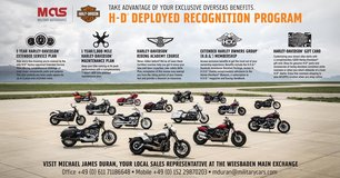 Want a Harley? Stateside & Overseas Delivery in Wiesbaden, GE