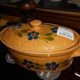 Nice Stoneware Casserole Dish with Lid    Article number: 043308 in Ramstein, Germany