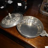 A Pewter Bowl with Lid         Article number: 041855 in Ramstein, Germany