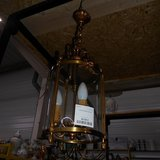 A Brass & Glass Hall Lantern     Article number: 043341 in Ramstein, Germany
