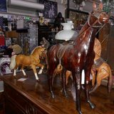 Beautiful 30 cm Large Leather Horse     Article number/ 043452 in Ramstein, Germany