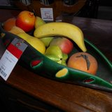 Charming Long Ceramic Bowl with 10 Artificial Fruits   Article number: 043480 in Ramstein, Germany