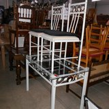 Very pretty Glass Table with 2 Chairs       Article number: 042750 in Ramstein, Germany
