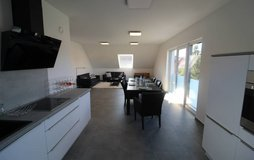 Luxurious suburban fully furnished top floor apartment near K-Town in Ramstein, Germany