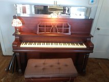 O.W. Wverly Upright Piano manfacted in New York in Wilmington, North Carolina