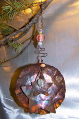 Large Copper LAYERED STAR Ornament ~ Handcrafted in Alamogordo, New Mexico