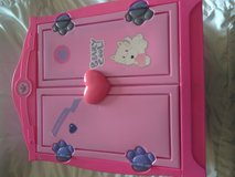 Build a bear lot,,,,pink dresser and lots of nice clothes in Yorkville, Illinois