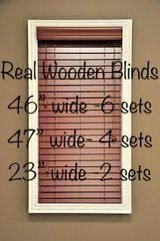 "wooden blinds (2"") in Nellis AFB, Nevada"