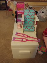 American girl wheelchair and highchair in Chicago, Illinois