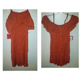 NWT Floral Dress Button Front Gauze S in Yorkville, Illinois