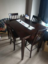 Dining table with chairs (PICK UP ONLY) in Okinawa, Japan