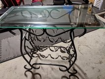 Glass Wine Rack table in Wilmington, North Carolina