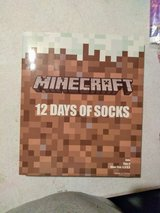 NEW 12 days of Minecraft socks in Fort Campbell, Kentucky