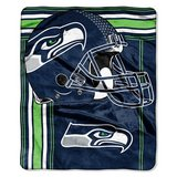 "SEATTLE SEAHAWKS 50""x 60"" Raschel Plush Throw Blanket by Northwest in Tacoma, Washington"