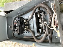 Electric Box with breakers for a Moblehome in Camp Lejeune, North Carolina