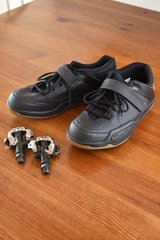 Shimano SH-AM5 MTB Clipless shoes size 44 with Shimano pd-M520 pedals in Stuttgart, GE