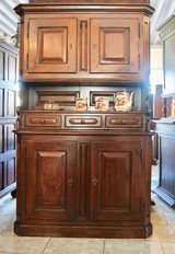 rustic country house dining room hutch in Stuttgart, GE